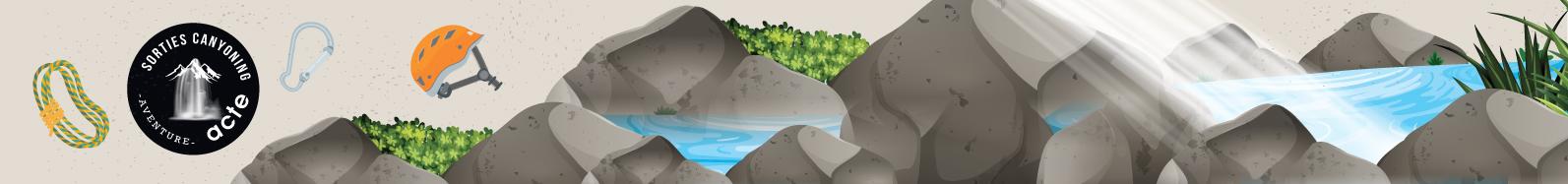 encadrement et formation en canyoning autour de foix, tarascon sur ariege, vicdessos, toulouse